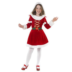 Red Little Miss Santa Costume