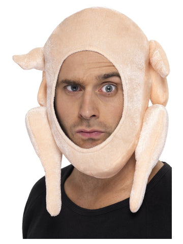 Stuffed Turkey Hat Pink Colour