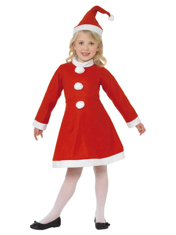 Red Santa Girl Costume