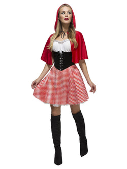 Women's Fever Red Riding Hood Costume - The Halloween Spot
