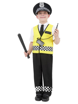 Boy's Police Boy Costume Black Colour