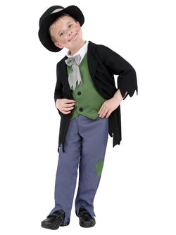 Boy's Dodgy Victorian Boy Costume Set