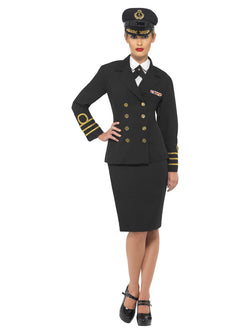 Women's Navy Officer Costume