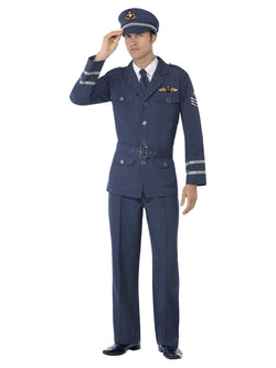 Men's WW2 Air Force Captain Costume - The Halloween Spot