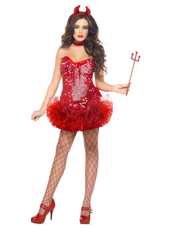Women's Red Devil Costume
