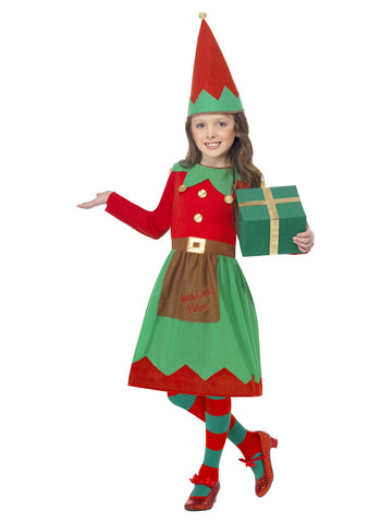Girl's Santa's Little Helper Costume