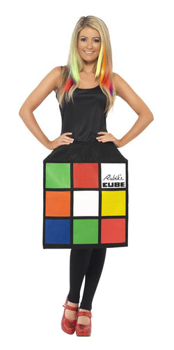 Female Rubik's Cube Costume