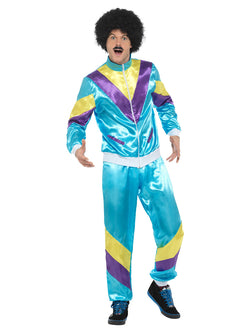 Men's Plus Size 80s Height of Fashion Shell Suit Costume - The Halloween Spot