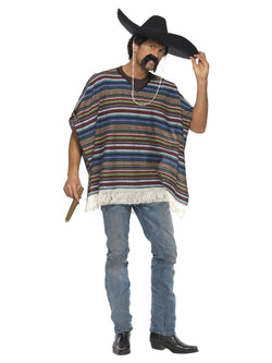 Authentic Looking Poncho - The Halloween Spot