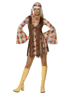Women's 1960's Groovy Baby Patterned Costume