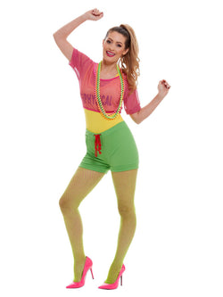 Women's Let's Get Physical Girl Costume