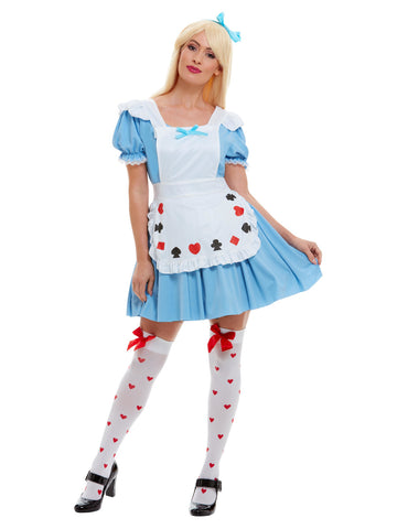 Blue Deck of Cards Girl Costume