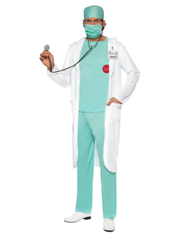 Men's Doctor Costume - The Halloween Spot