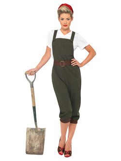 Women's WW2 Land Girl Costume