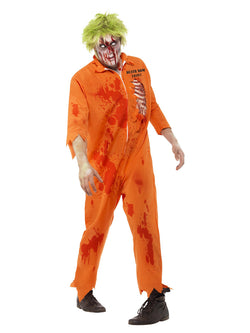 Men's Zombie Death Row Inmate - The Halloween Spot