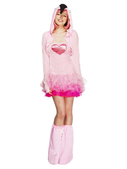 Women's Fever Flamingo Costume, Tutu Dress