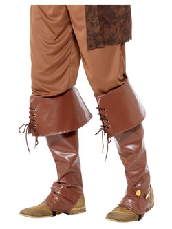 Men's Deluxe Pirate Bootcovers - The Halloween Spot