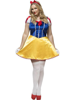 Women's Plus Size Fever Curves Fairytale Costume
