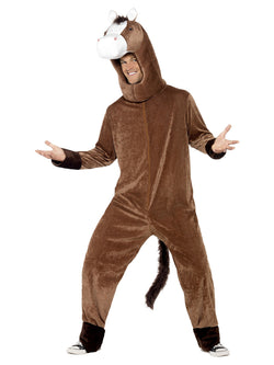 Unisex Horse Costume Brown Colour