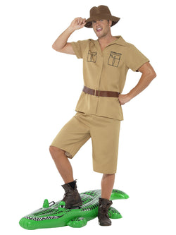 Men's Safari Man Costume - The Halloween Spot