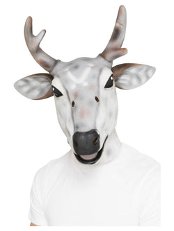 Grey Reindeer/Stag Latex Mask