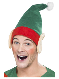 Green Elf Hat