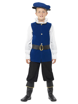 Boy's Tudor Boy Costume Set