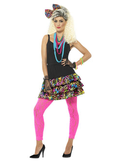 80's Multi-Coloured Party Girl Kit