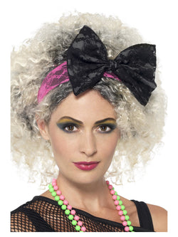80s Lace Headband - The Halloween Spot