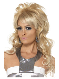 60's Blonde Long Beauty Queen Wig