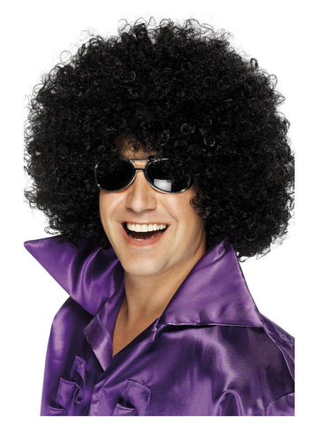 Black Mega-Huge Afro Wig