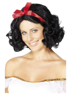 Short and Wavy Black Fairytale Wig