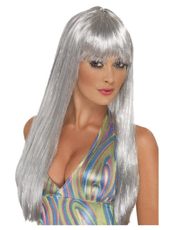 Smiffy's Glitter Disco Wig - The Halloween Spot