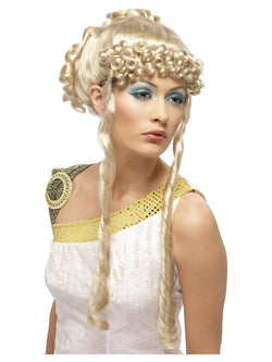 Blonde wig of Greek Goddess