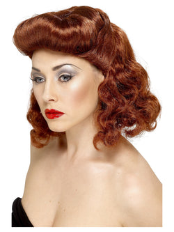 Smiffy's Pin Up Girl Wig - The Halloween Spot