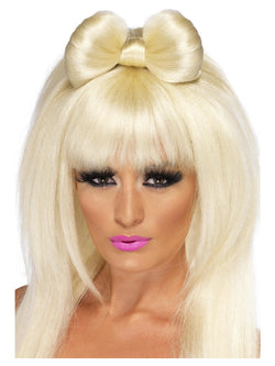 Blonde Pop Sensation Wig Long with Bow