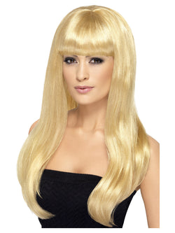 Long Straight with Fringe Babelicious Wig