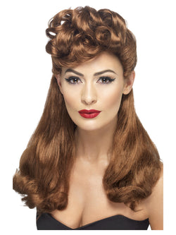Long with Top Curls 40's Vintage Wig
