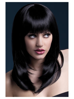 Feathered Cut with Fringe Fever Tanja Wig