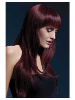 Long Feathered with Fringe Fever Sienna Wig