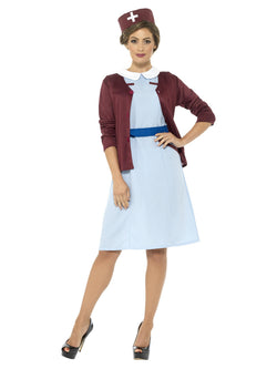 Vintage Nurse Blue coloured Costume