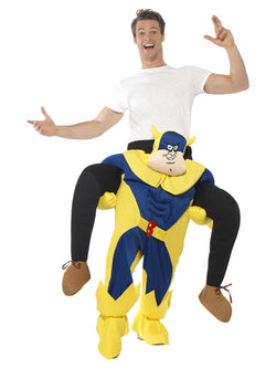 Bananaman Piggy Back Carry Me Costume