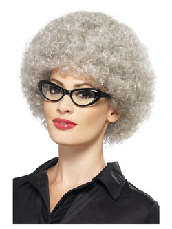 Granny Perm Grey coloured Wig