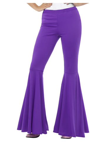 1960's Flared Purple Trousers for Ladies