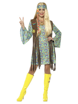 60s Hippie Chick Costume - The Halloween Spot