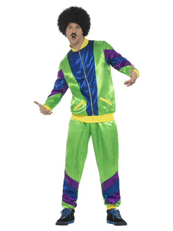 80s Height of Fashion Shell Suit Male Costume