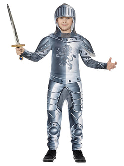Boy's Deluxe Armoured Knight Costume - The Halloween Spot