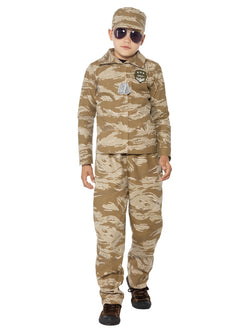 Camouflaged Desert Army Costume