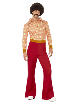 Men's Authentic 1970s Guy Costume - The Halloween Spot
