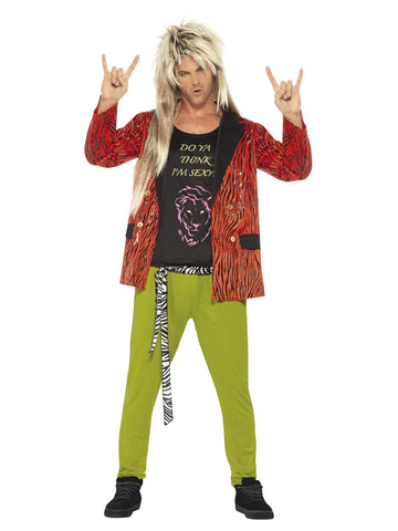Halloween Rockstar.Men S 80s Rock Star Costume